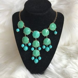 5/$25 J. Crew Turquoise Statement Necklace